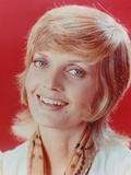 Florence Henderson smiling with Mole on Left Cheek