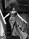 Ethel Merman Posed in Long Dress