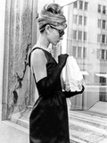 Audrey Hepburn Breakfast at Tiffany's Iconic Shot