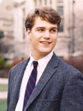Chris O'Donnell in Fur Formal Outfit With Necktie Portrait