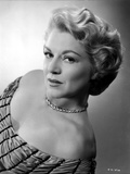 Claire Trevor Posed in Elegant Dress with Necklace