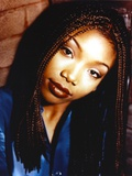 Brandy with Dreads Hairstyle Close Up Portrait