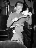 Dolores Moran Reading Portrait