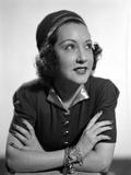 Ethel Merman Looking Up in Classic with Bracelet