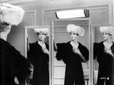 Deborah Kerr posed on Three Mirrors