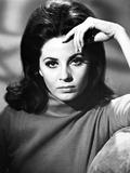 Barbara Parkins Close Up Portrait wearing A Sweater