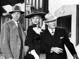 Carole Landis on a Hat with Two Man