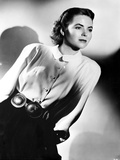 Dorothy McGuire on a Long Sleeve Polo posed