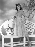 Dinah Shore Posed in Classic