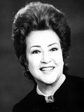 Ethel Merman Portrait in Classic with Necklace