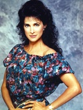 Connie Selleca in Floral Dress Portrait