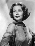 Classic Portrait of Arlene Dahl with Mole on Right Cheek