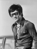 Bruce Lee posed in Classic Portrait