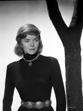 Dorothy McGuire on a Long Sleeve standing and posed