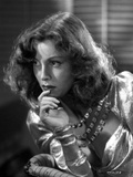 Frances Dee Thinking in A Portrait in Black and White