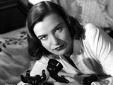 Ella Raines on Long Sleeves and Holding a Phone