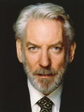 Donald Sutherland posed Close-up Portrait