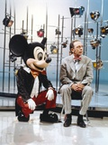 Don Knotts with Mickey Mouse