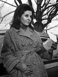 Barbara Parkins Portrait wearing in Jacket with Gloves