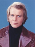David Soul Posed in Leather Jacket Close-up Portrait