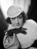 Ethel Merman Portrait in Classic with Gloves