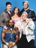 A-Team Posed with Cast