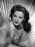 Colleen Gray Posed in White Gown Portrait