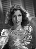 Frances Dee in Glossy Dress