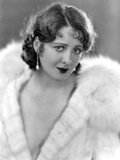 Billie Dove wearing Fur Coat Portrait