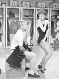 Damn Yankees Cast Gwen Verdon Dancing in Lingerie