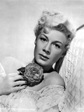 Betty Hutton Leaning with a Flower Portrait