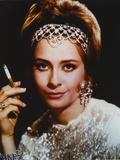 Elizabeth Ashley Posed while Smoking Cigarette