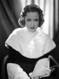 Ethel Merman Portrait in Feather Coat