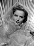 Colleen Gray on a Netted Veil Portrait