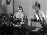 Betty Blythe sitting Portrait
