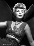 Claire Trevor Posed in Corset with Necklace