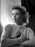 Dorothy McGuire on Long Sleeve Top and Pose
