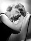 Dorothy McGuire Leaning and posed