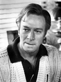 Christopher Plummer in White Sweater With Collar