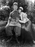 Harry Langdon Couple Scene in Movie