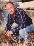 Gerald McRaney sitting in long sleeve