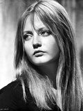 Ewa Aulin Portrait in Black and White