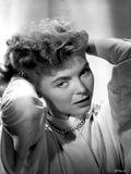 Dorothy McGuire on a Long Sleeve and Hands on Head Pose