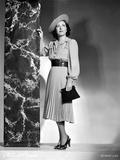Gracie Allen wearing Dress with Hat