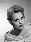 Judy Holliday on an Embroidered Off Shoulder Top Portrait