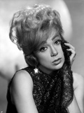 Edie Adams Leaning Chin on Hand in Classic