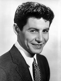 Eddie Fisher Posed in Black Suit