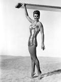 Esther Williams smiling in Bikini