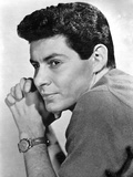 Eddie Fisher Posed in Polo Shirt With Watch