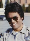 Erik Estrada smiling Close Up Portrait